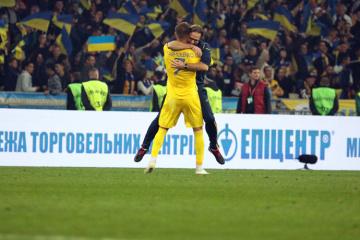 【サッカー】ウクライナ代表、ポルトガルに勝利 欧州選手権本大会出場決定=ユーロ2020