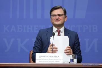 Kuleba habla de las tareas prioritarias en la asociación entre Ucrania y la UE