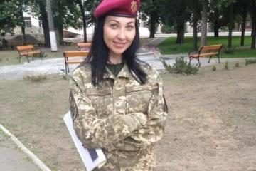 Donbass: Une militaire ukrainienne tuée par un sniper