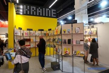 Otwarcie ukraińskiego stoiska na targach książki we Frankfurcie