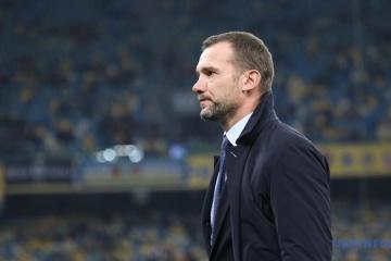 У Шевченко закончился контракт со сборной Украины