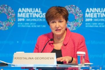 Directora gerente del FMI: El primer tramo del SBA se aprobará pronto