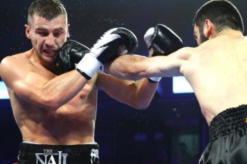 Gvozdyk sufre un nocaut técnico de Beterbiev y pierde el título del CMB
