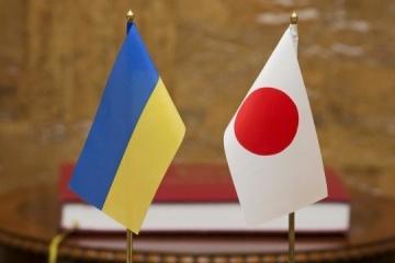 Le Japon a fourni une aide financière de 1,8 milliard de dollars à l'Ukraine depuis 2014