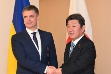 Foreign ministers of Ukraine and Japan hold talks in Tokyo