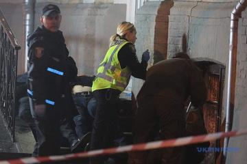 Zwei Tote bei Explosion von Handgranate im Zentrum Kyjiws