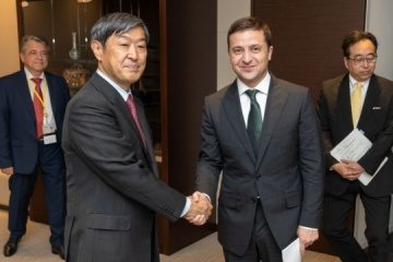 Zelensky, JICA President discuss prospects for further cooperation
