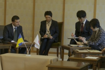 Zelensky calls on Japanese Parliament to grant visa waiver to Ukrainians