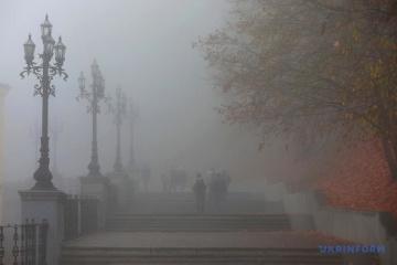 La niebla inunda Kyiv