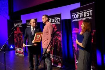 Sentsov a reçu un prix pour sa rébellion créative au Festival du film polonais
