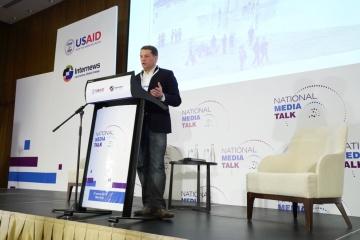 National Media Talk: Discurso de Roman Súshchenko