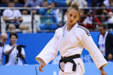 Ukrainian judoka Bilodid wins gold in Abu Dhabi Grand Slam