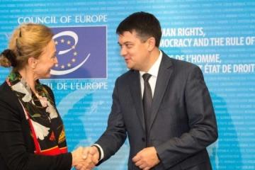 Rada-Chef: Keine Kompromisse der Ukraine bezüglich territorialer Integrität