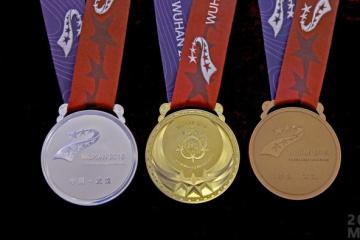 Ukrainer gewinnen 33 Medaillen bei den Militärweltspielen in China