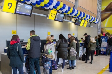 Passenger traffic at Odesa Airport decreased by 58% in 2020