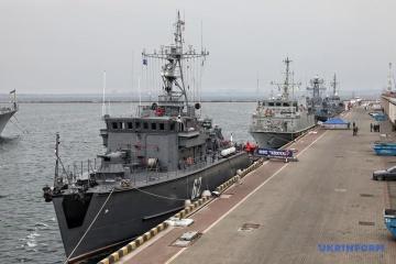 Vier NATO-Schiffe in Odessa
