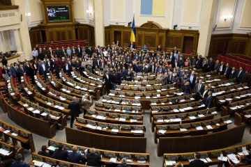 Verkhovna Rada this week to consider bills on budget, land reform, amber production