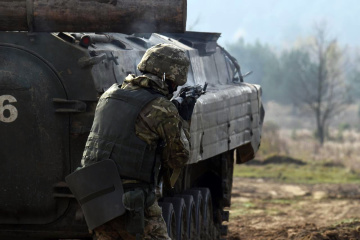 Invaders violate ceasefire in Donbas 7 times, four Ukrainian soldiers wounded
