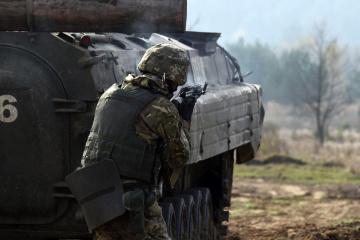 Okupanci w Donbasie 16 razy naruszyli zawieszenie broni – jeden żołnierz jest ranny