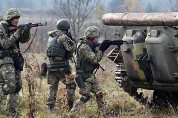 Russian-led forces violate ceasefire in Donbas 19 times