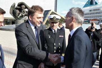 Ukrainian Defense Minister meets with NATO Secretary General in Odesa
