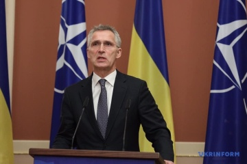 Stoltenberg congratulates Ukraine on receiving Enhanced Opportunities Partner status