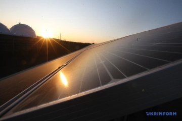 240 MW solar power plant launched in Dnipropetrovsk region