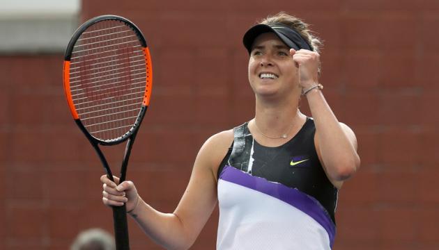 Свитолина обыграла американку Кенин и вышла в 1/4 финала турнира WTA в Пекине