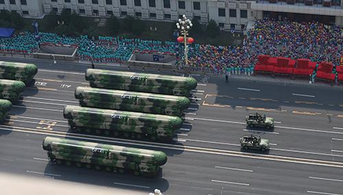 Китай показав ядерну ракету, здатну вдарити по будь-якій точці Землі