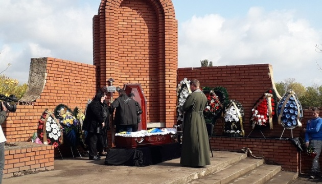 У Маріуполі попрощалися із пораненим на Донбасі бійцем, який помер у шпиталі
