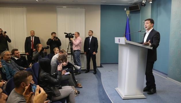 Выборов в ОРДЛО не будет, пока там российские военные - Президент