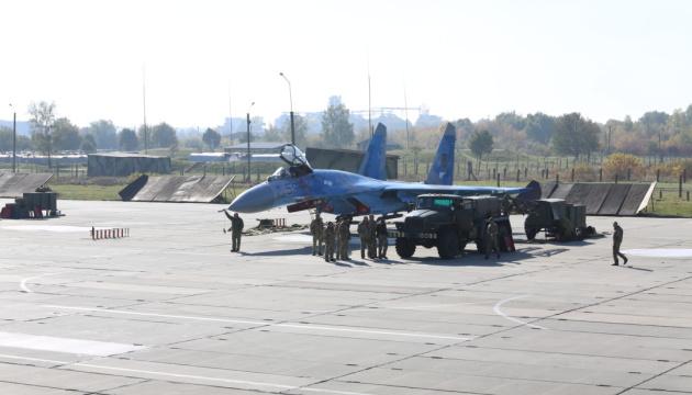 Військові аеродроми адаптують до стандартів НАТО