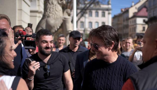 Tom Cruise besucht Lwiw