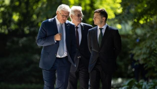 У Штайнмайера подтвердили запланированную встречу с Зеленским в Токио