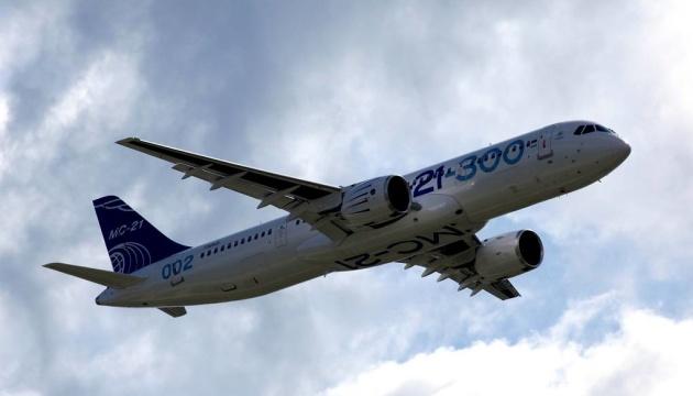 Російський «магістральний літак XXI століття» зламався на випробуваннях
