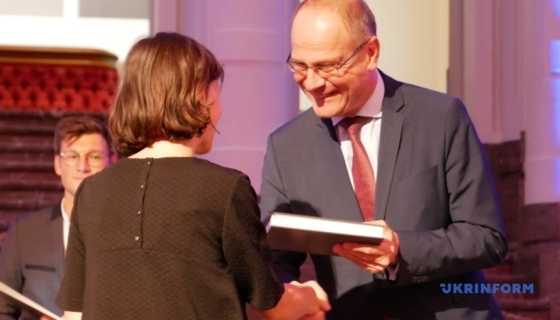 У Брюсселі вручили літературну премію ЄС - серед лауреатів уперше є українка