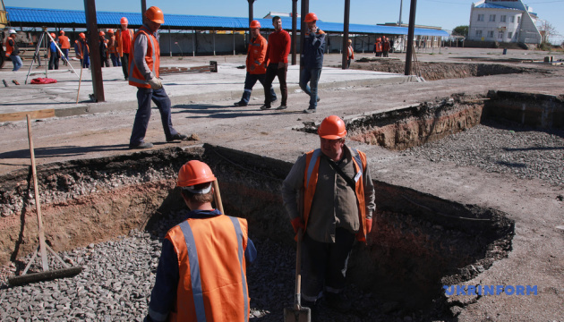 Будівельні роботи на КПВВ «Каланчак» та «Чонгар» планують завершити вже у листопаді