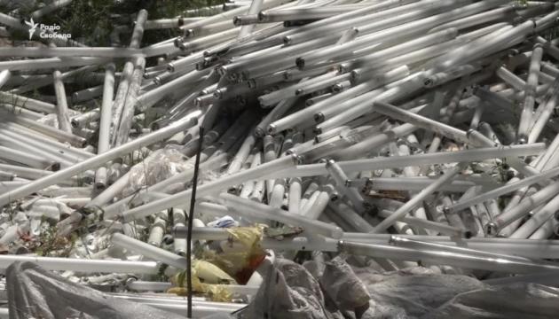 На Черкащині виявили звалище небезпечних відходів