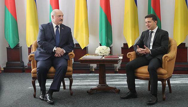 Selenskyj und Lukaschenko treffen sich in Schytomyr