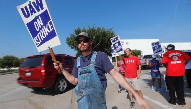 У Штатах страйкують майже 50 тисяч робітників General Motors