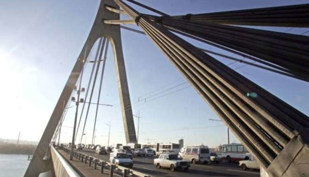 У Києві сьогодні обмежать рух Північним мостом