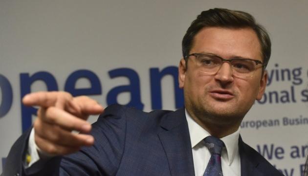 Домовленості щодо Донбасу не означають миру з Росією - Кулеба