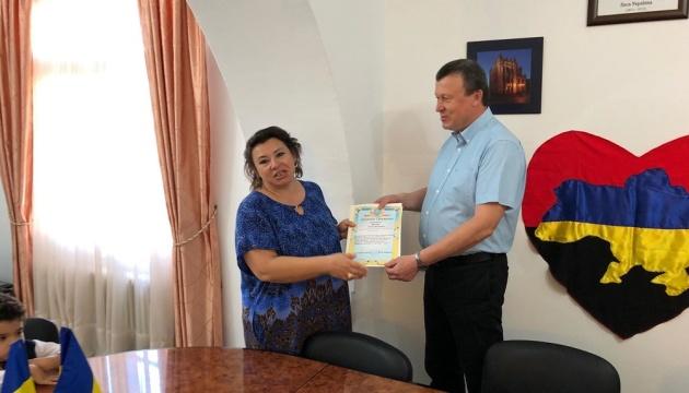 В Тунісі відзначили українку за роботу щодо розвитку української школи