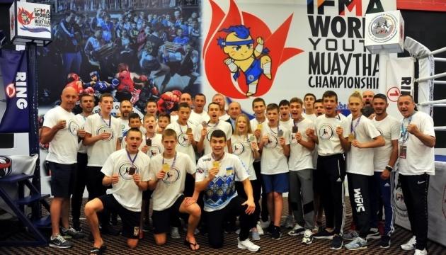 Українці здобули 14 медалей першості світу з таїландського боксу