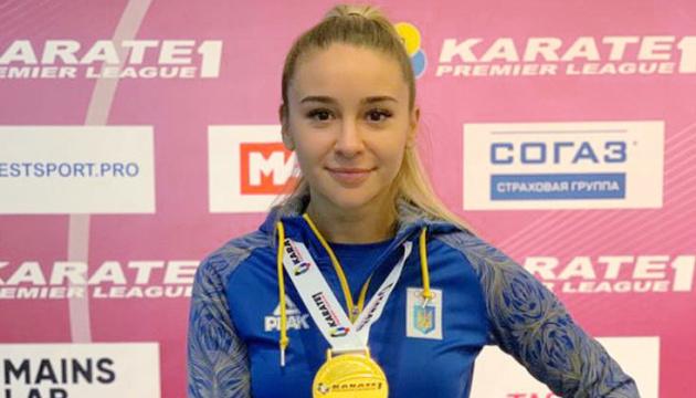 La karateka Terliuga gana el oro en la 6ª etapa de Karate 1 Premier League