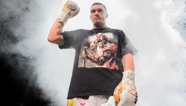 Боксерський бій Усика проти Спонга покаже телеканал
