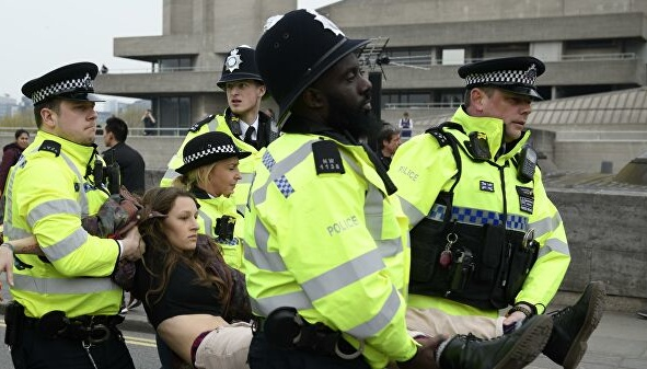 У Лондоні затримали вже 217 екоактивістів руху Extinction Rebellion
