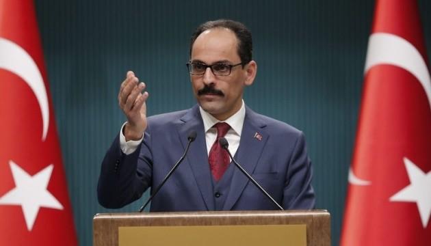 Туреччина не має наміру окупувати територію Сирії — речник Ердогана