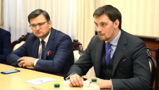 Гончарук розповів главі МЗС Латвії про плани уряду на наступні 5 років