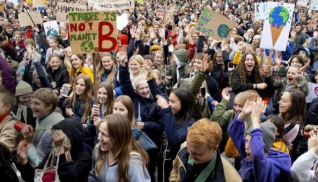 В Амстердамі мітинг за збереження клімату завершився арештами